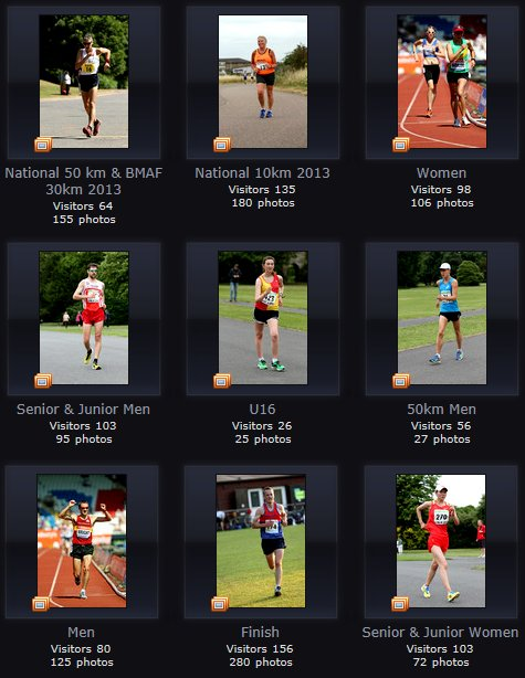 Race Walking Photographs by Mark Easton